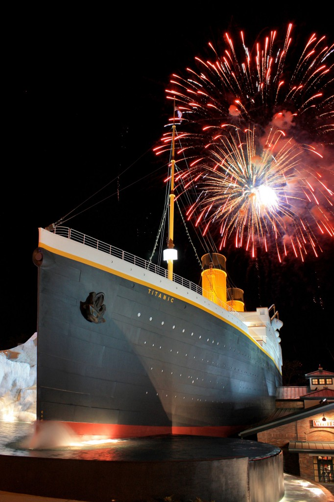 B4-Titanic-opening-fireworks