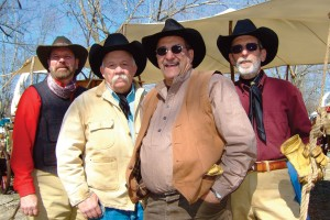 Saddle Up draws chuck wagon cookoff teams from several states.