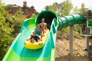 RiverRush at Dollywood's Splash Country