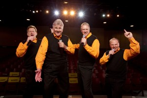 The Kingdom Heirs are among the scores of acts set for the National Quartet Convention.