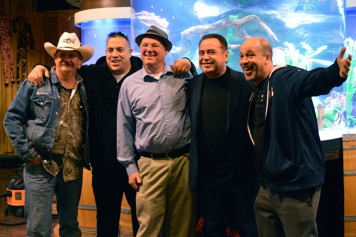 Animal Planet Tanked episode at Hatfield and McCoy Dinner Show