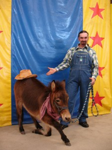 Comedy Critters Pet Show Charlie Communicating_Donkey-5