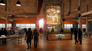 Clubhouse at the Ripken Experience Pigeon Forge